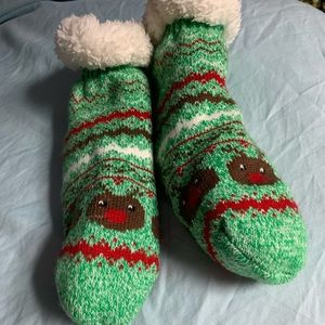 Accessories - Cute Christmas fluffy socks